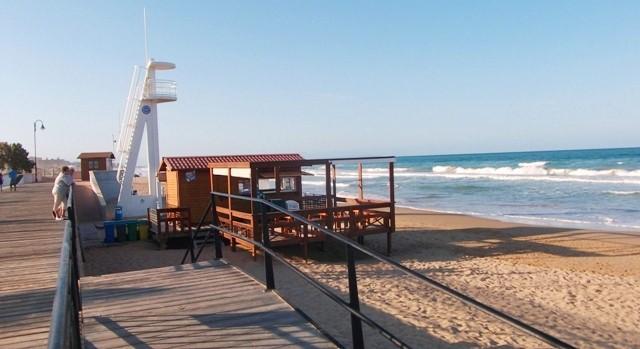пляж La Mata