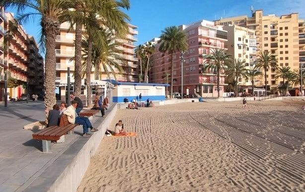 пляж Плайя дель Кура