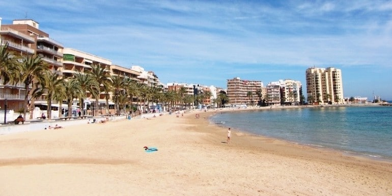 пляж Playa del Cura