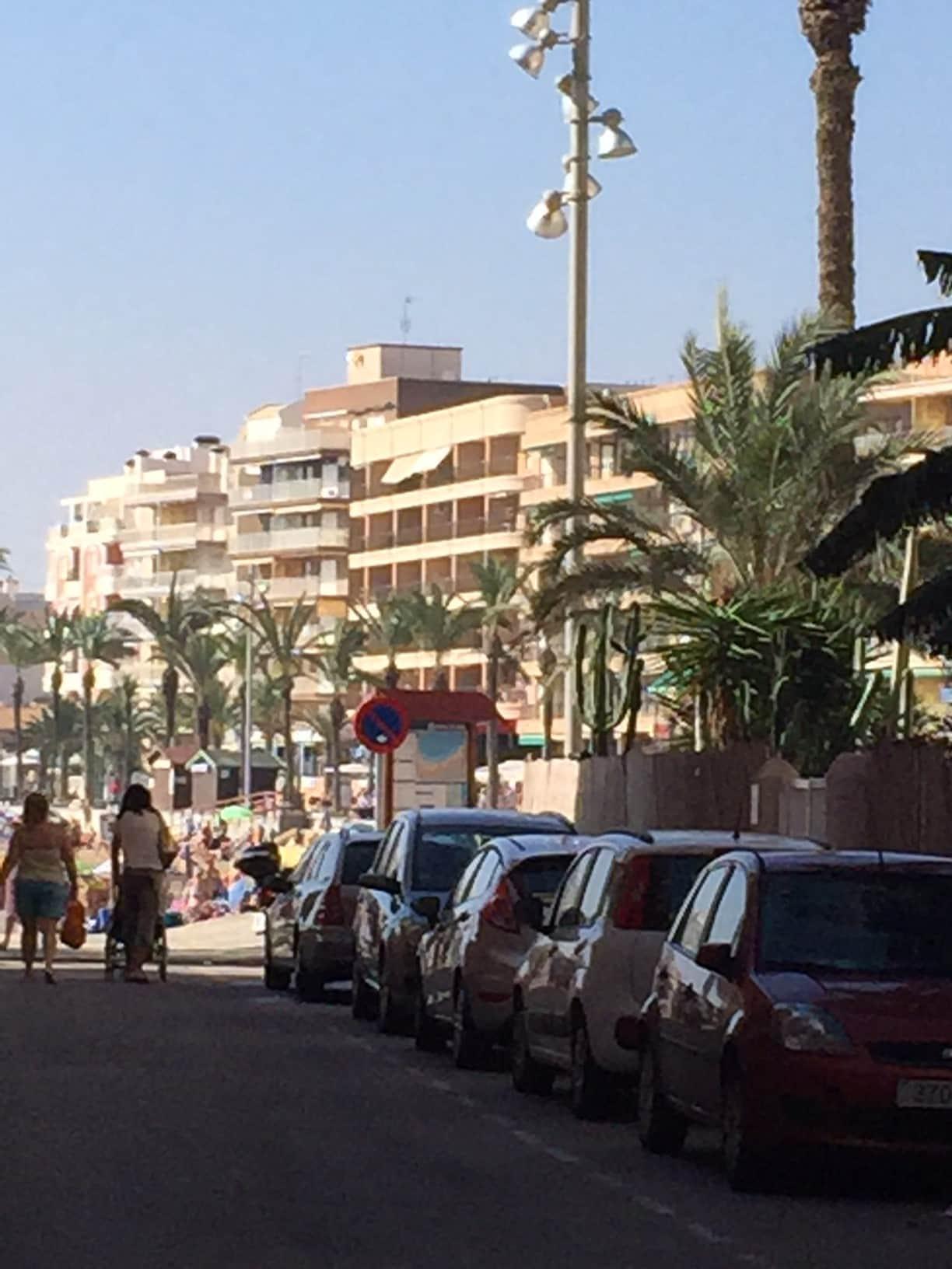 Просторная квартира в популярной зоне Playa del Cura