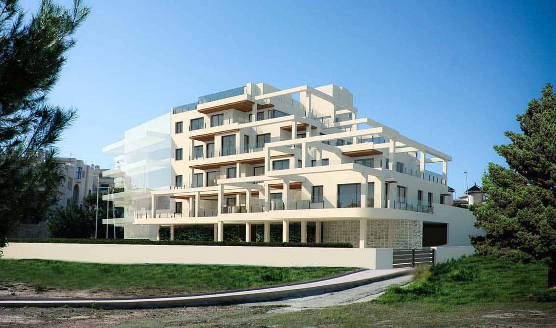 New development Zeniazul in La Zenia