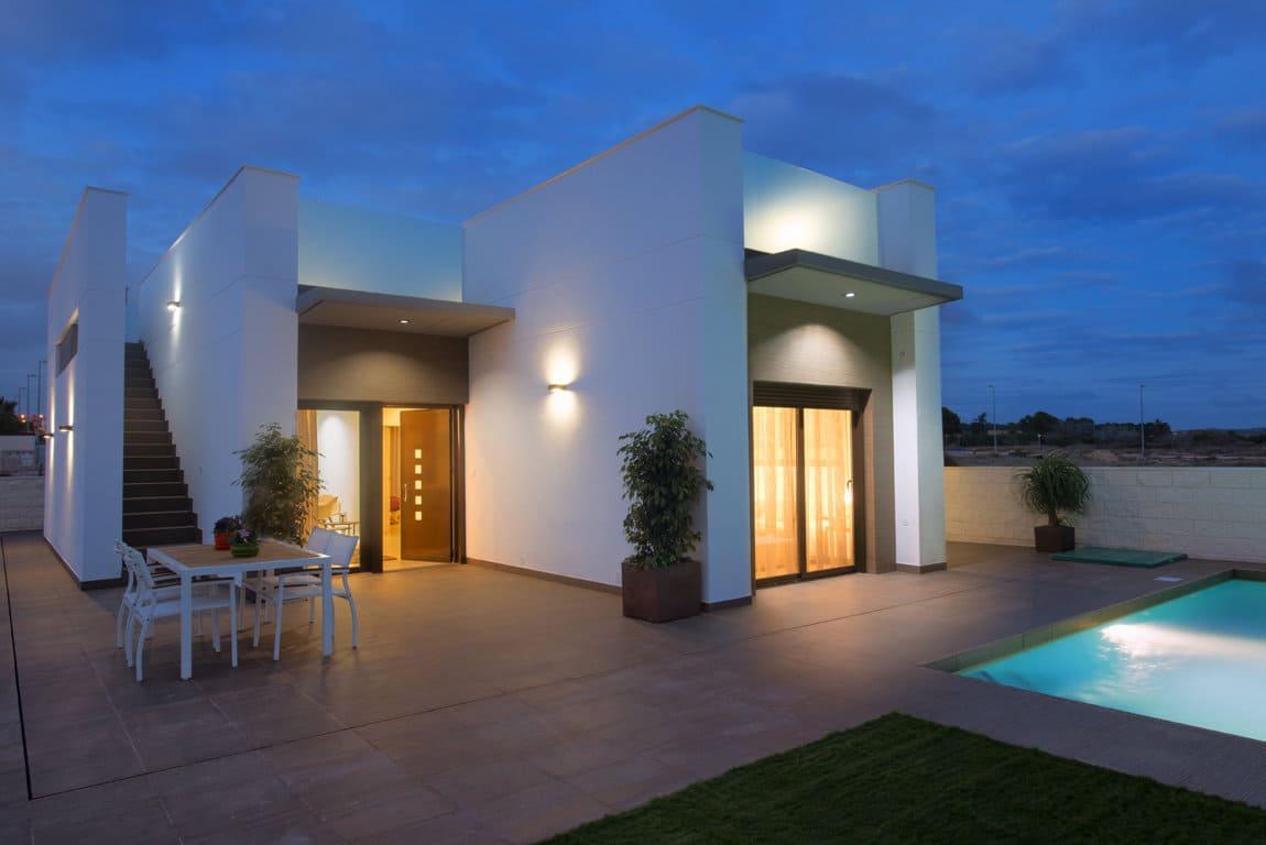Villa of new construction