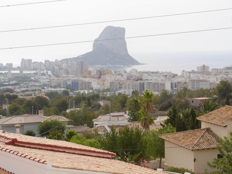 Villa with sea views in Calpe