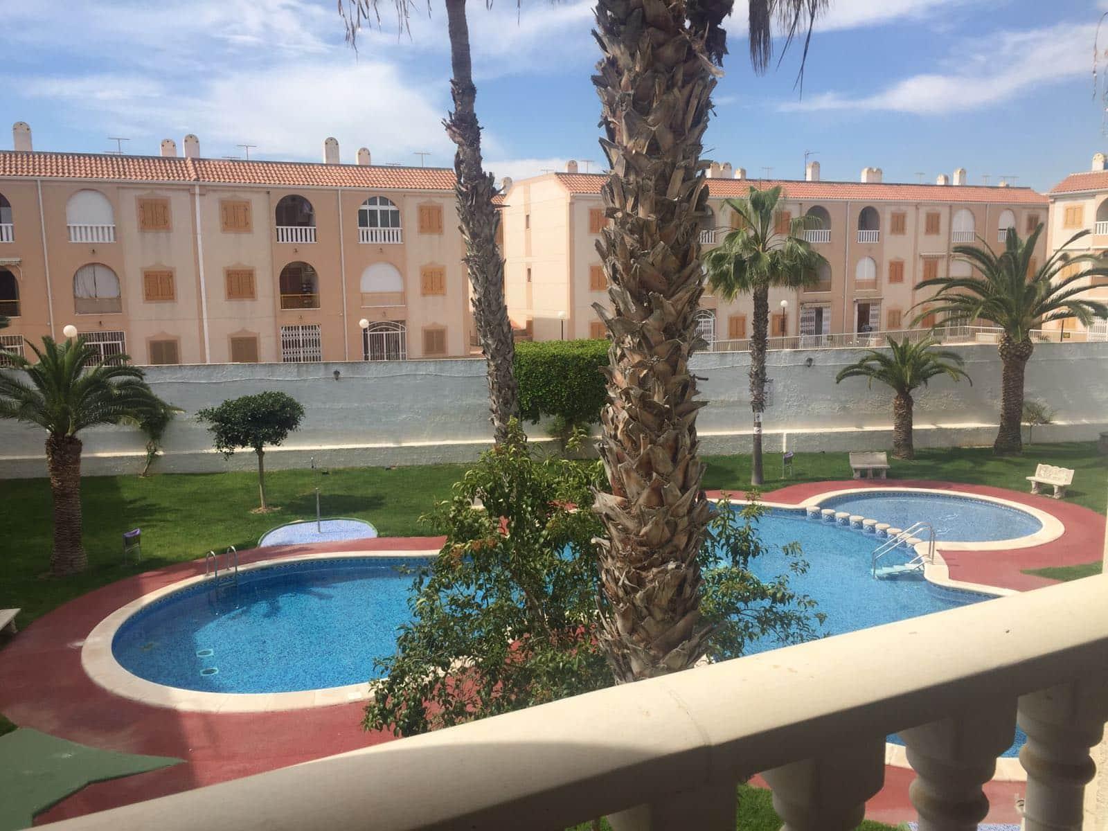 Квартира с одной спальней в 150 метрах от пляжа и зеленой зоной с бассейном