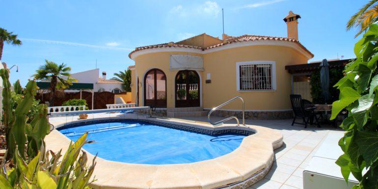 Вилла с 3-мя спальнями в Ориуэла Коста, Аликанте