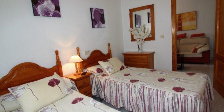 Апартаменты с 2-я спальнями в 600 м. от моря в Торревьехе