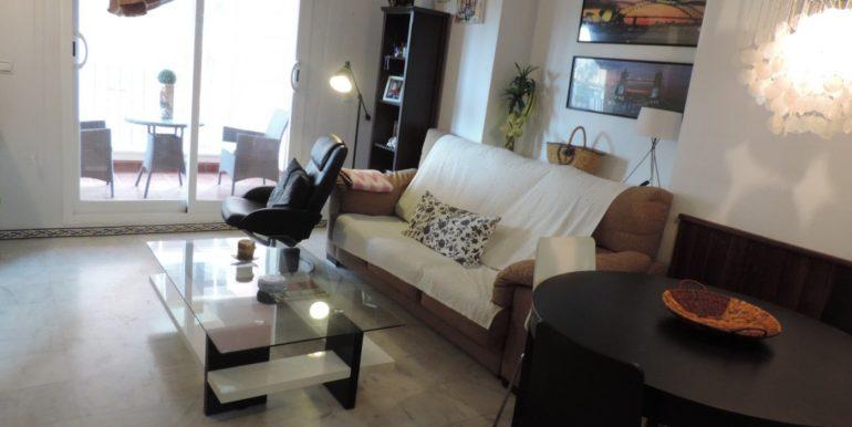 Апартаменты с 2-я спальнями в 300 м. от пляжа Лос Локос, Торревьеха