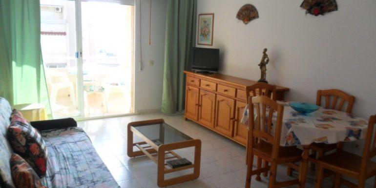 Апартаменты с 2-я спальнями в 800 м. от моря в Торревьехе